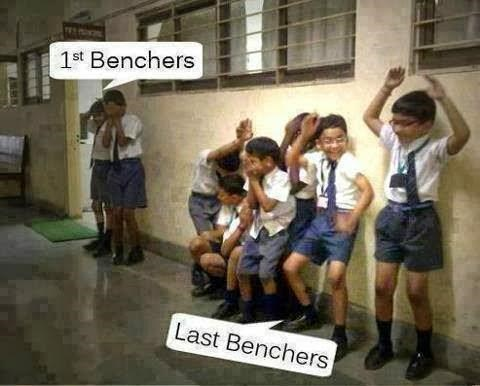 Funny Image Student In School