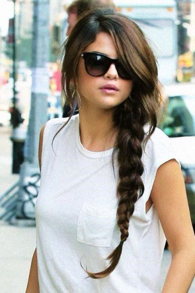 Selena Gomez Wedding Hairstyles For A Round Face
