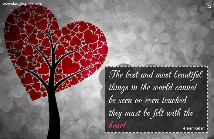The Best And Most Beautiful Things In The World Cannot Be: The Best And Most Beautiful Things In The World