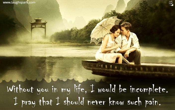 Without You In My Life Love Quotes For Her From The Heart