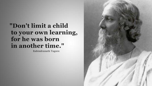 tagore life of learning The essential tagore [rabindranath tagore,  the lord of life, from his collectionchitra,  after learning about tagore at the art institute in chicago,.