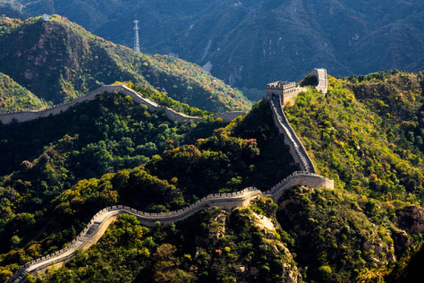 10 Most Beautiful Places In The World 9 The Great Wall Of China