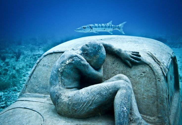 Top 5 Amazing Cancun Underwater Sculpture Museum By  Jason Declaires Taylor - 2 Anthropocene
