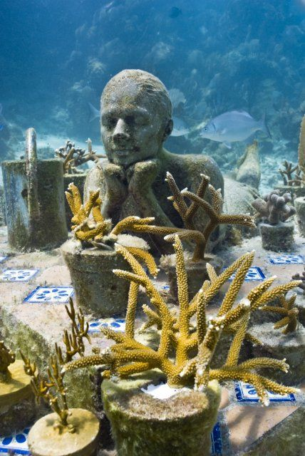Top 5 Amazing Cancun Underwater Sculpture Museum By Jason Declaires Taylor - 5 The Gardener
