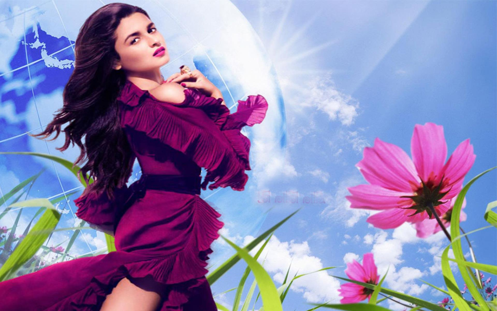 alia bhatt beautiful wallpaper