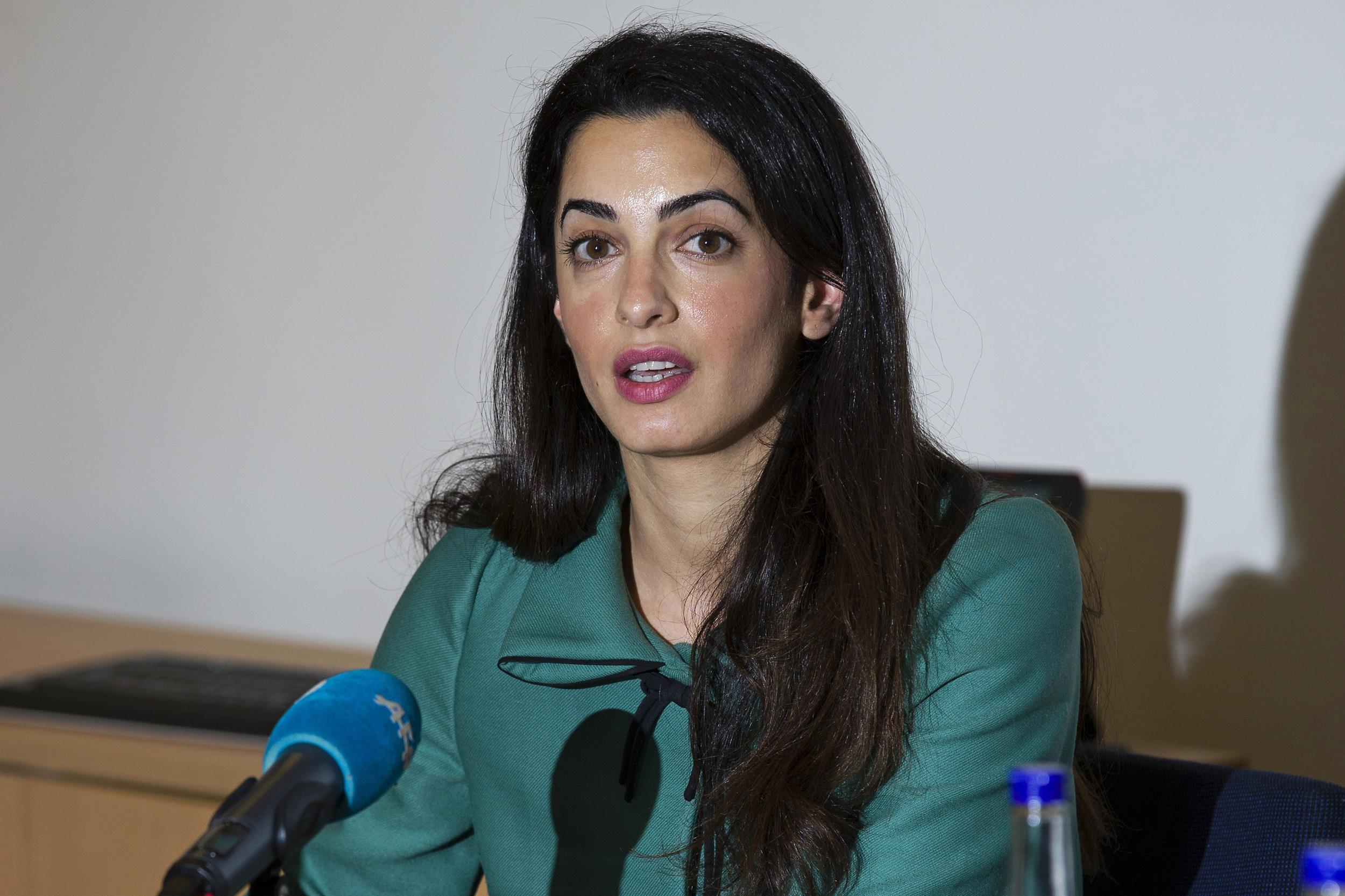 Amal Alamuddin: George Clooney's Betrothed a Star Among ...