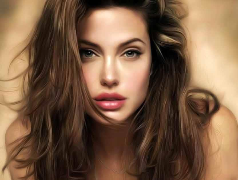 Peachy Angelina Jolie Great Short Hairstyles For Square Faces Short Hairstyles For Black Women Fulllsitofus