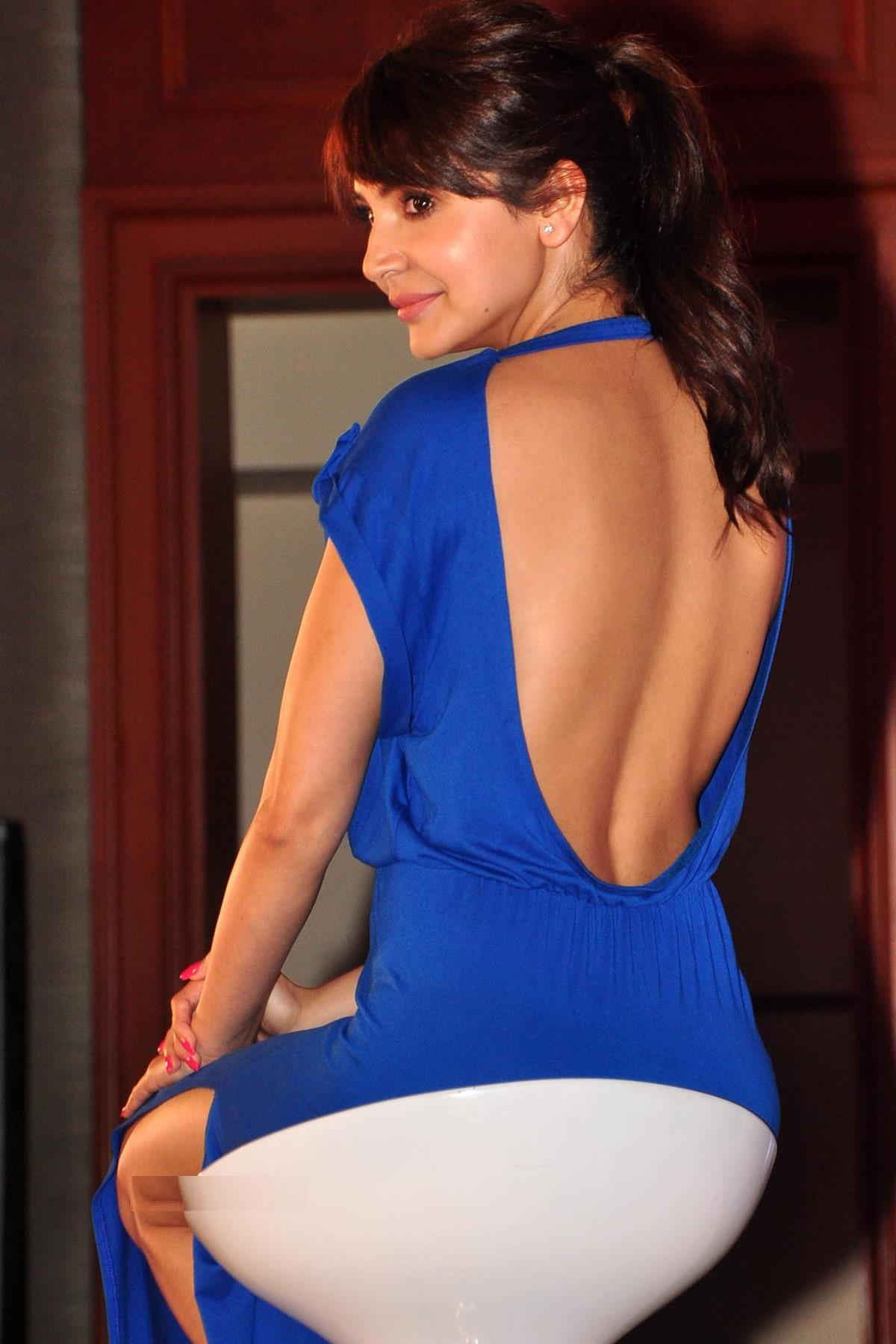 Hot Blue Dress
