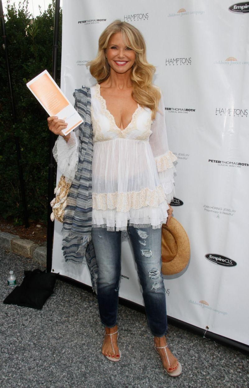 Christie Brinkley At The Celebration Of The Children S
