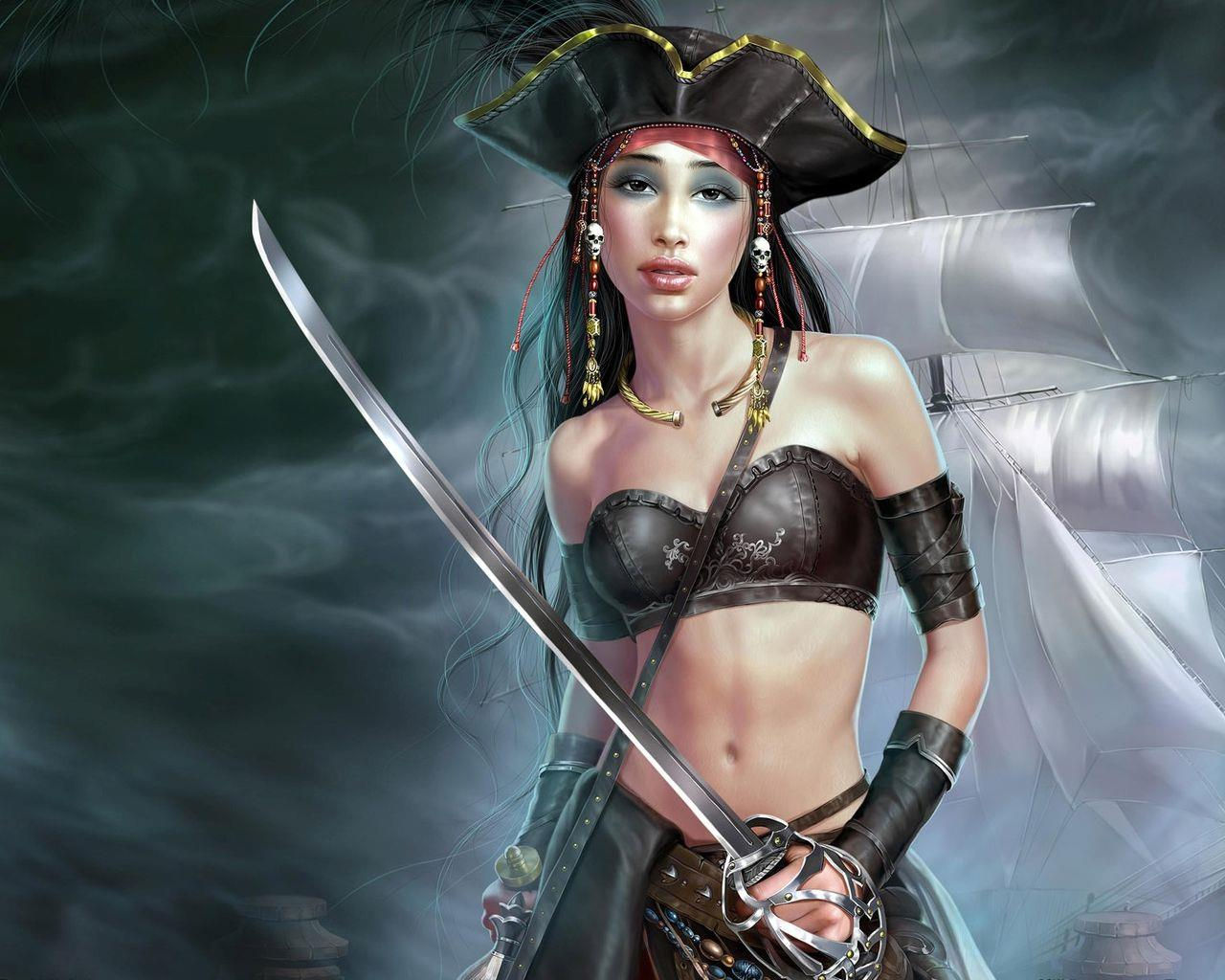 pirate woman Fantasy