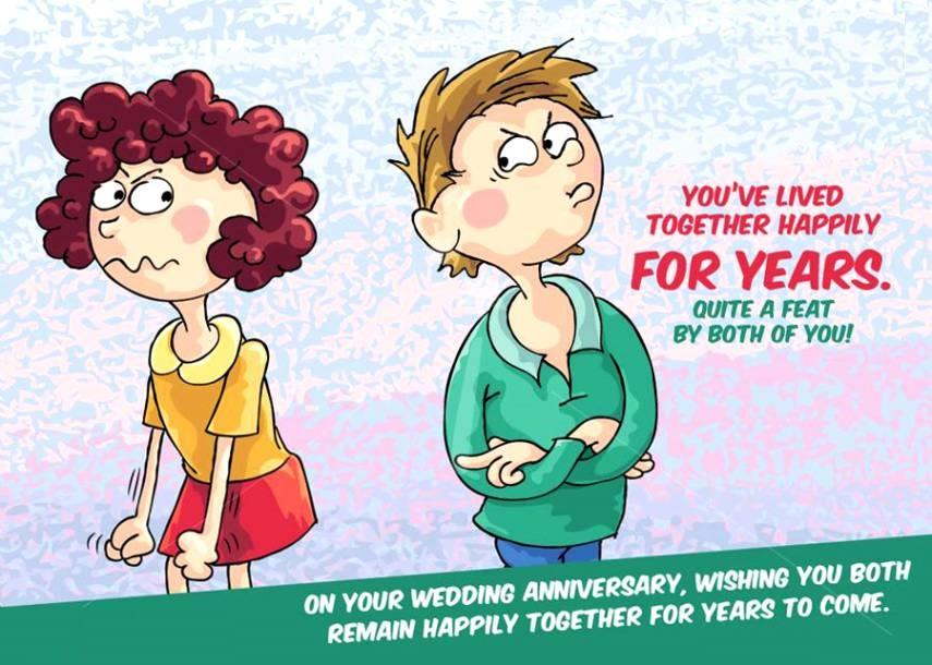 Funny Best Happy Anniversary Wishes Viral Ever