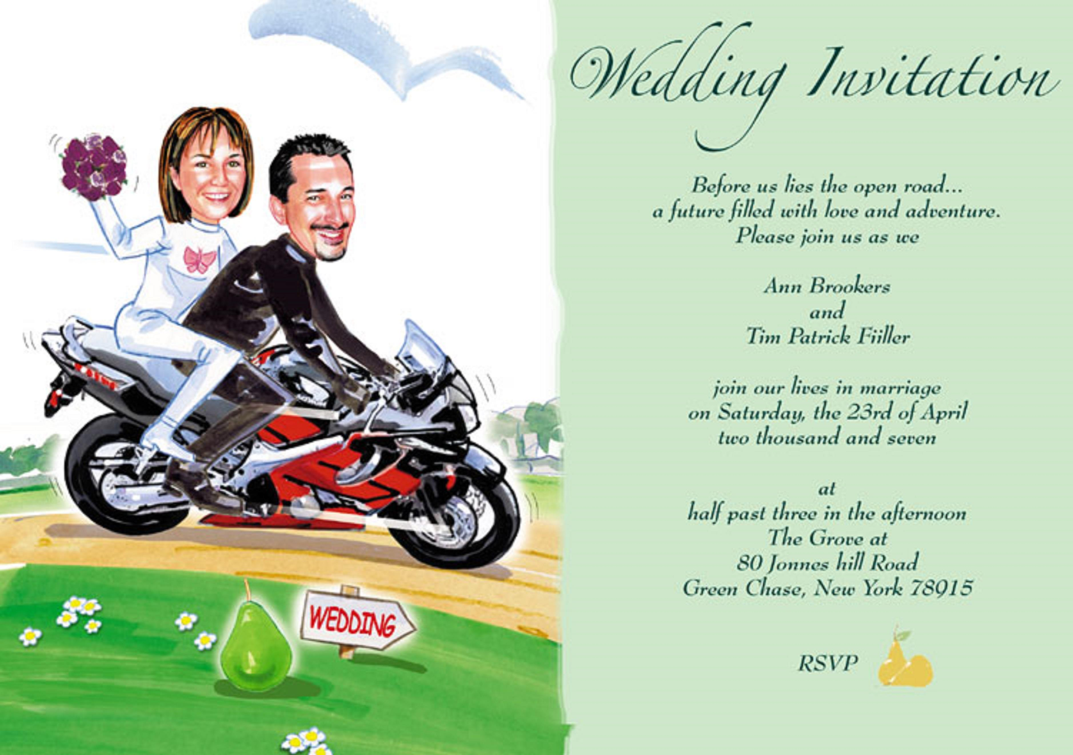 Funny Wedding Invites For Friends Funny Wedding Invitations