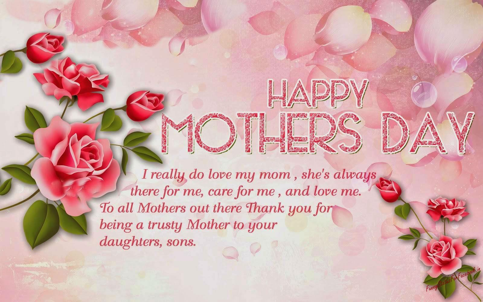 Watch - Mothers Happy day sayings pictures video