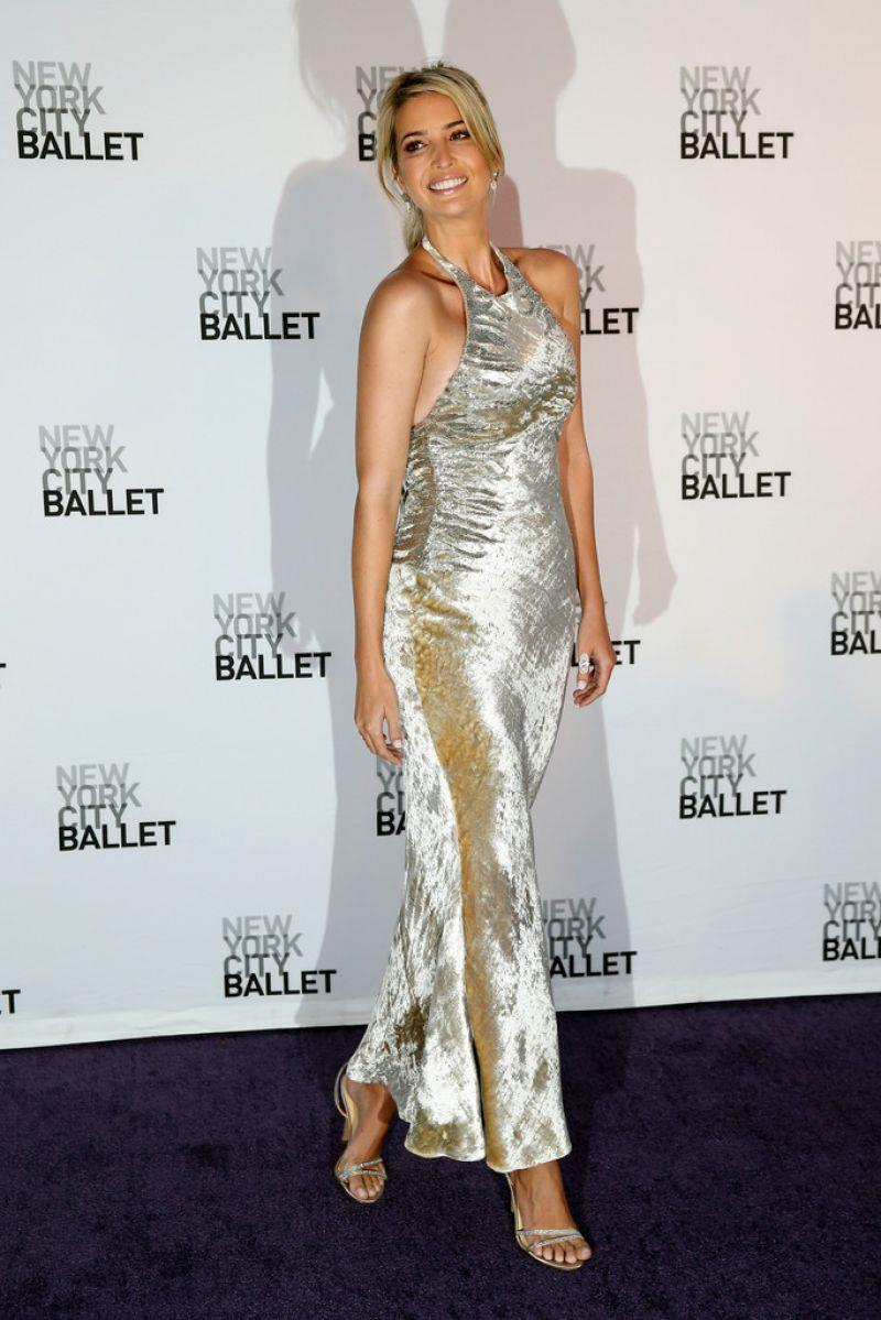 Ivanka Trump New York City Ballet 2014 Fall Gala At