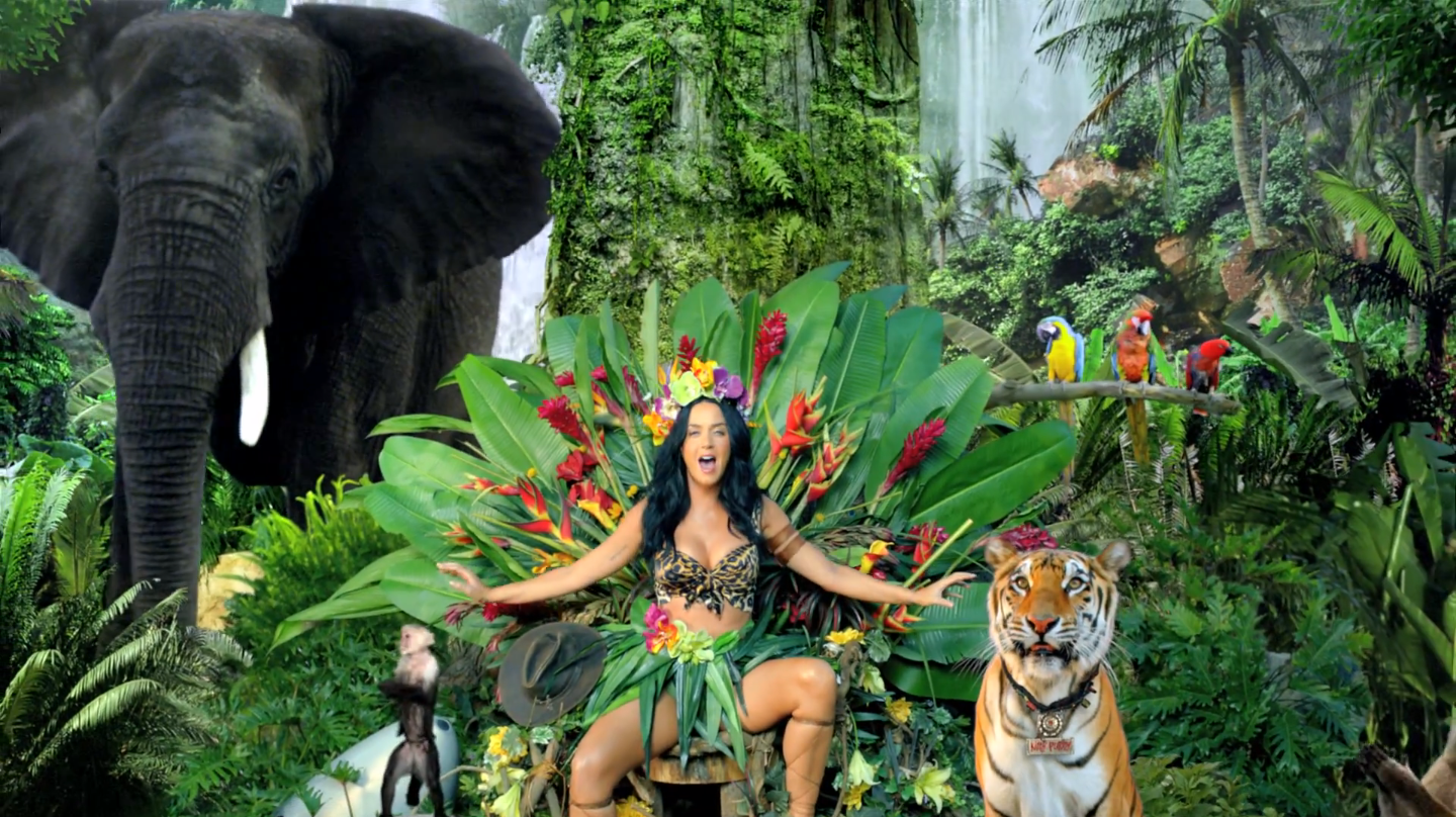 Katy Perry Roar Official Behind The Scenes