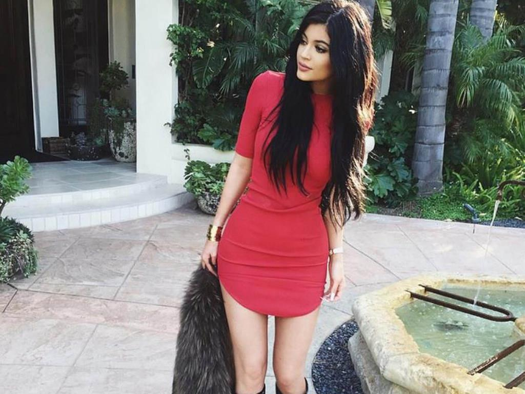 Kylie Jenner Instagram Dress