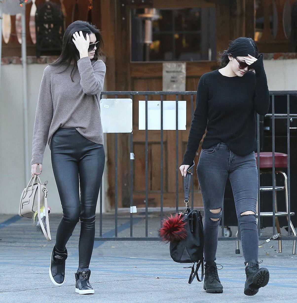 Kylie Jenner Outfits: Kylie Jenner 2015 Street Style Kendall Jenner And Kylie