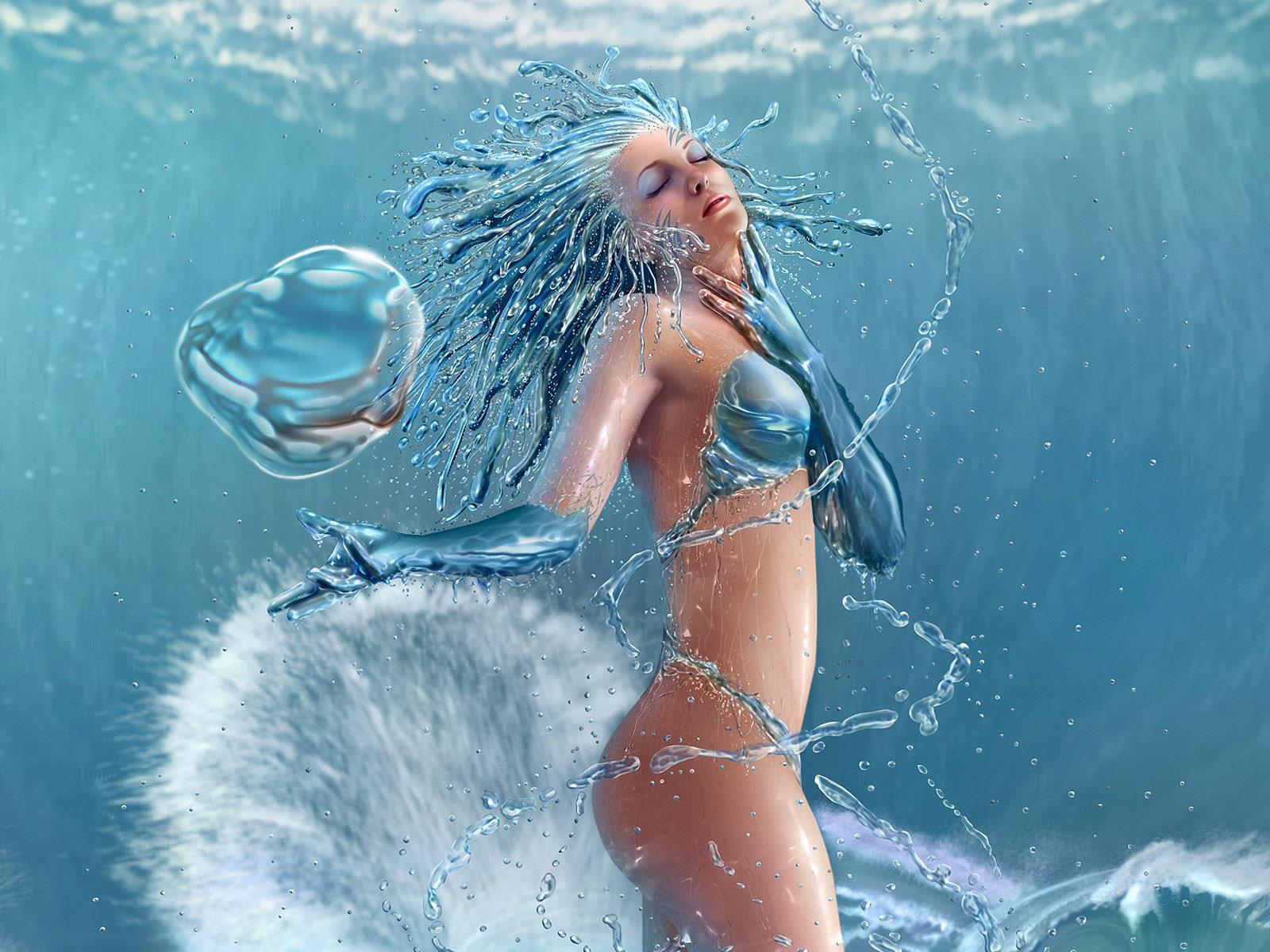 Fantasy Mermaid Art wallpaper