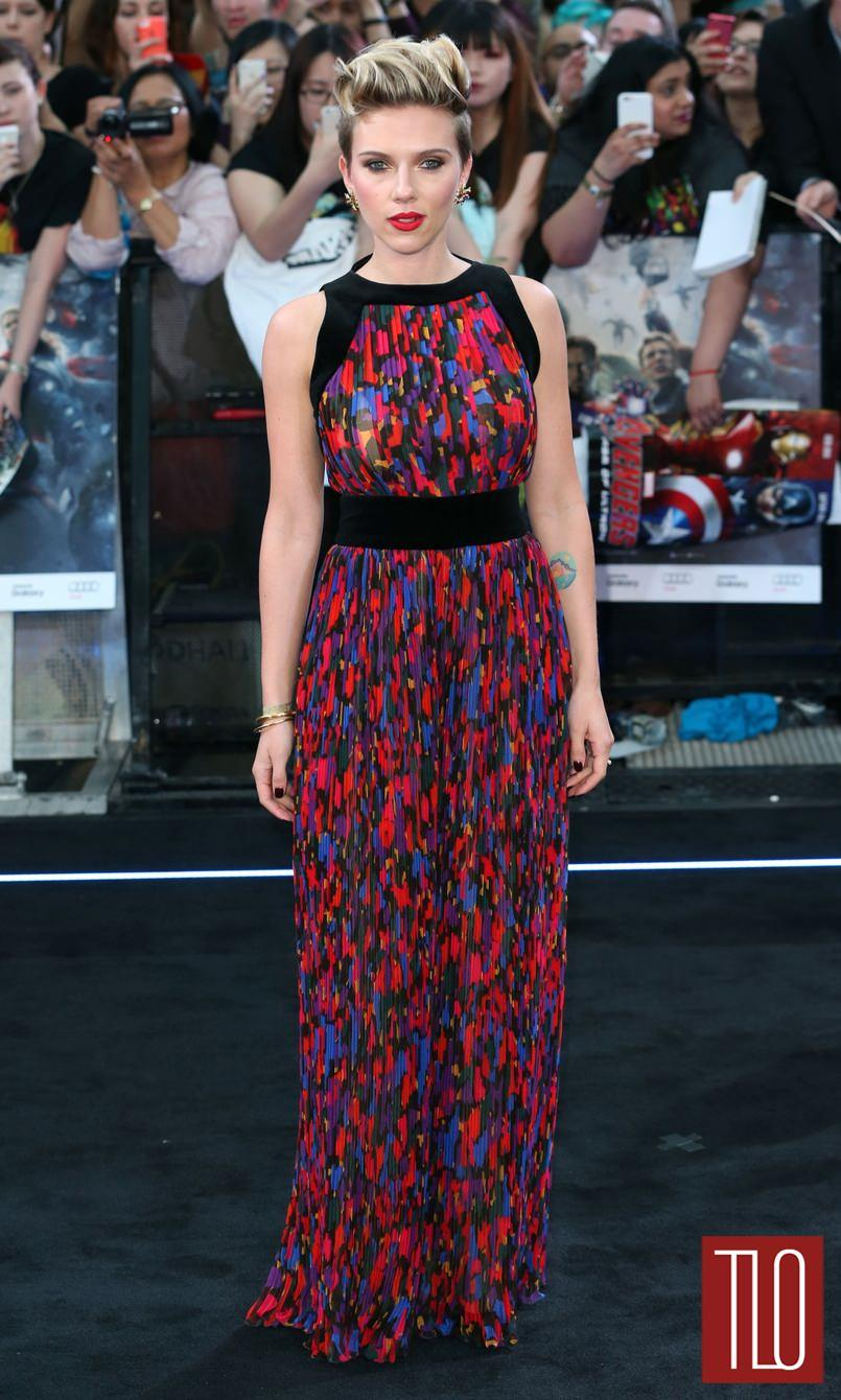 Scarlett Johansson Attends The Premiere Of Avengers Age