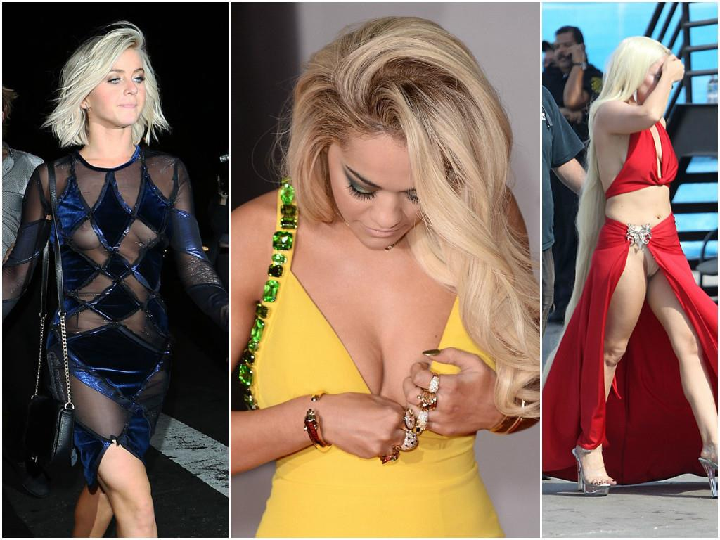 Sexiest celebrity wardrobe malfunctions