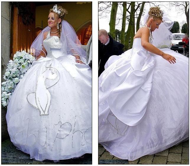 Funny Old Woman Wedding Gowns: 15 + Weird Funny Wedding Dress